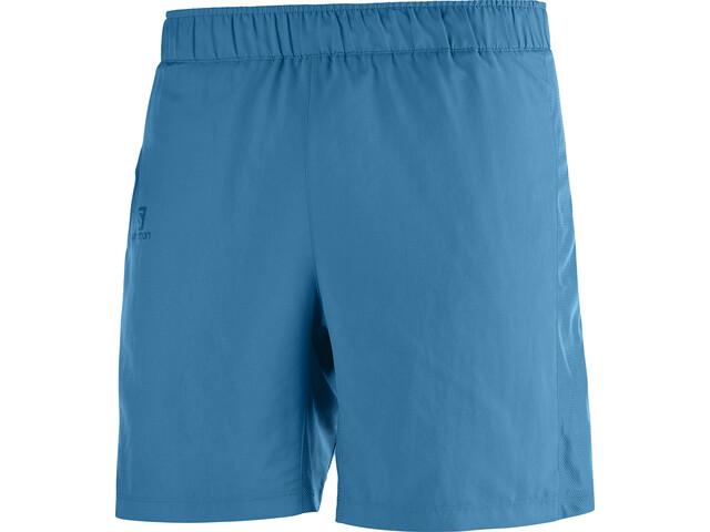 "Salomon Agile Pantalones cortos 7"" Hombre, fjord blue"